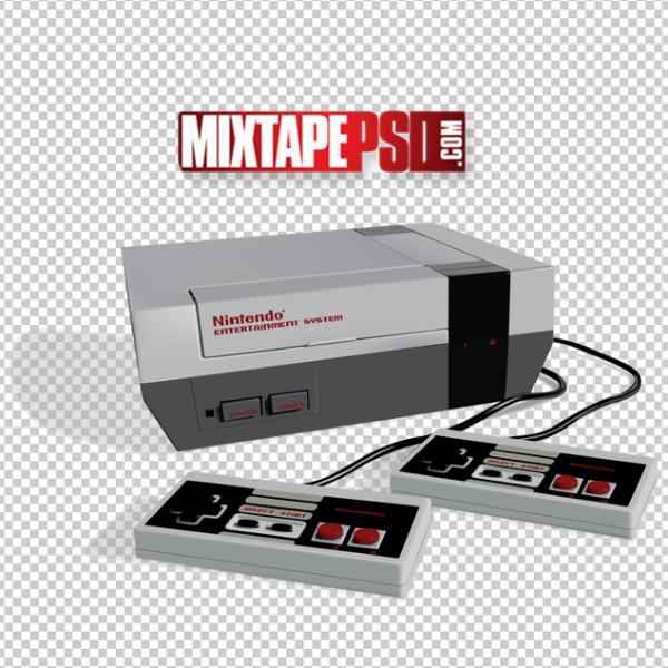 Retro Nintendo NES Counsel PNG