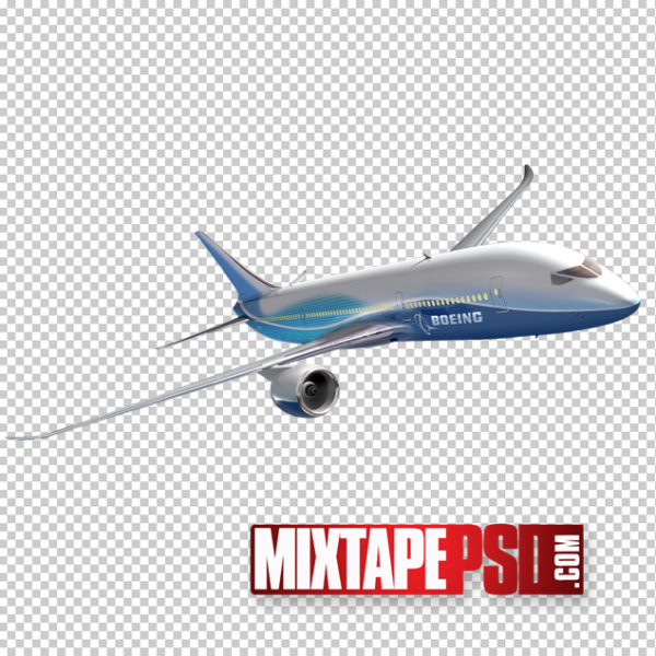 Passenger Jet Plane PNG