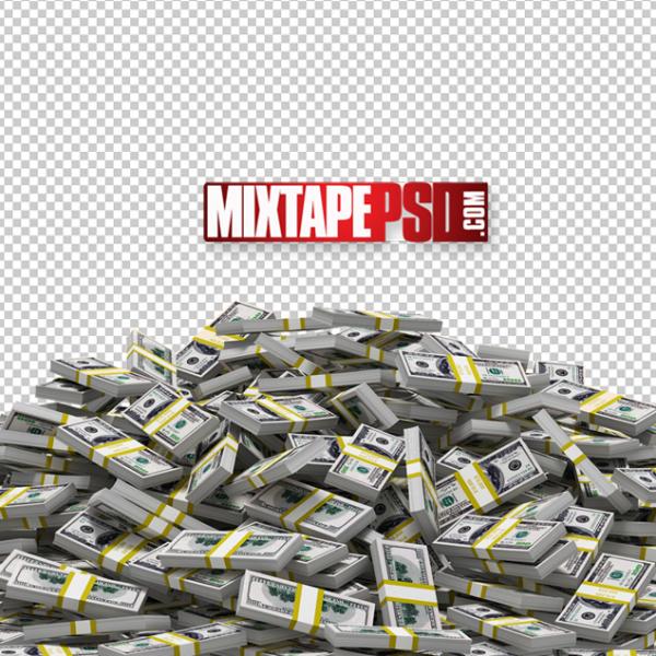 Piles of Money Template