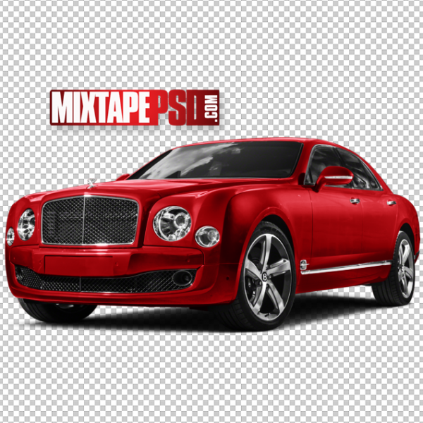 Red 2017 Bentley PNG