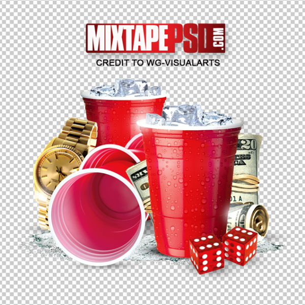 Red Cup Money Elements