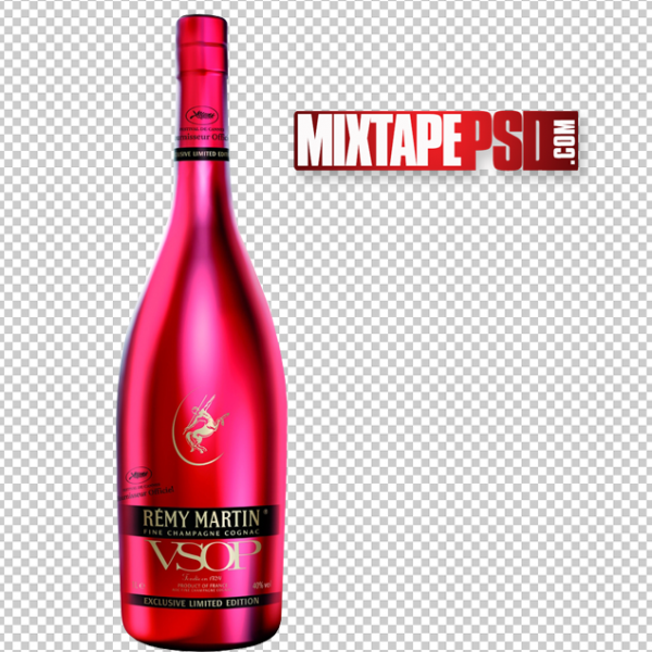 Remy Martin Liquor Bottle PNG