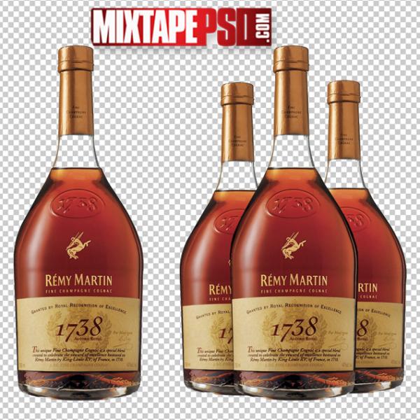 Remy Martin Bottles PNG