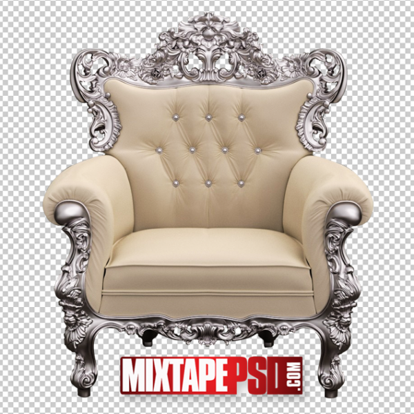 Silver Creme Chair Template