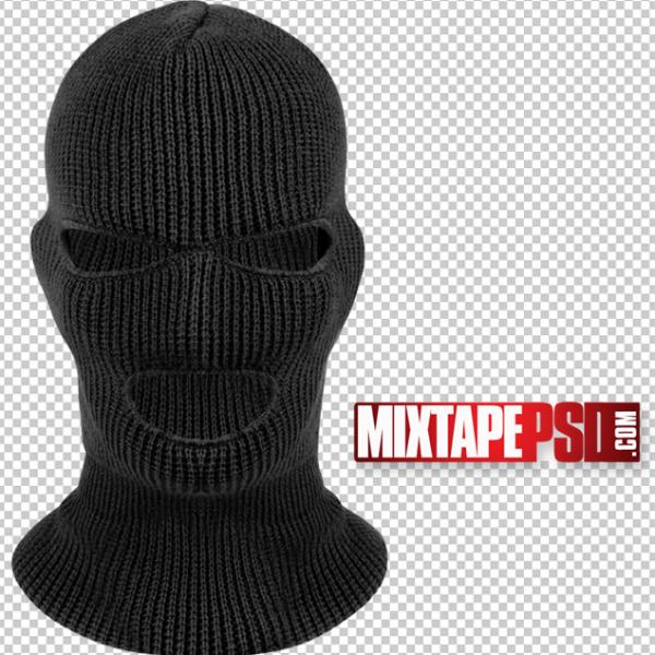 Black Ski Mask Template