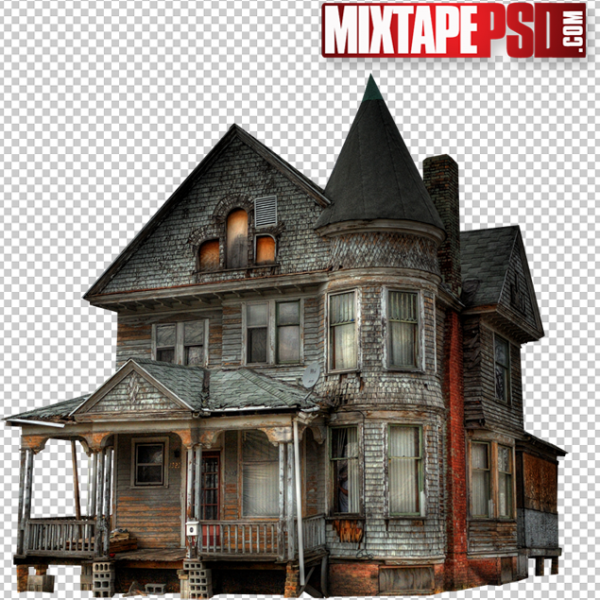 Haunted Trap House PNG