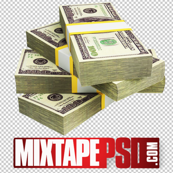 Stack of Money 7 PNG Image