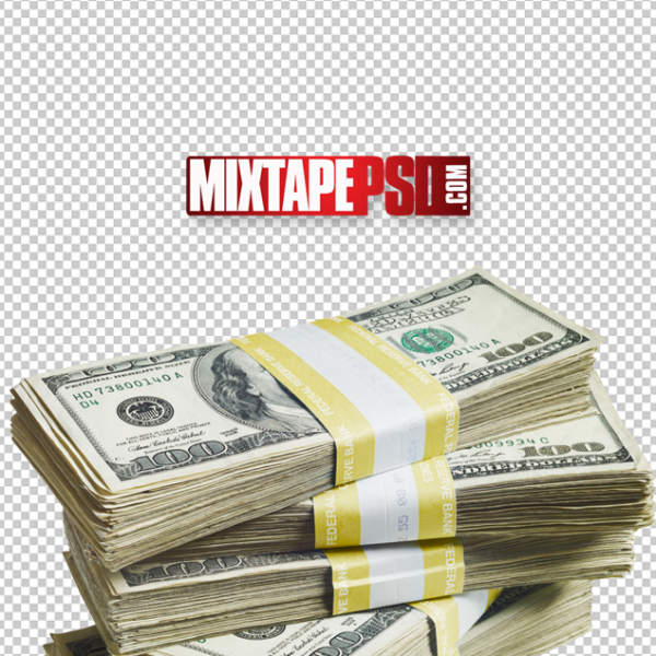 Stack of Cash Money PNG