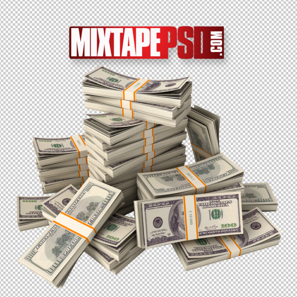 Stack of Money PNG Image