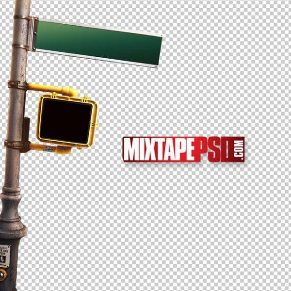 Street Pole Corner Sign PNG