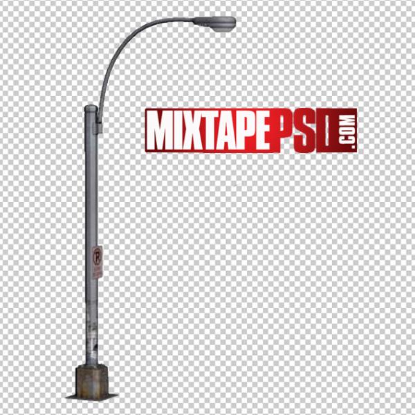 Street Pole Lamp PNG