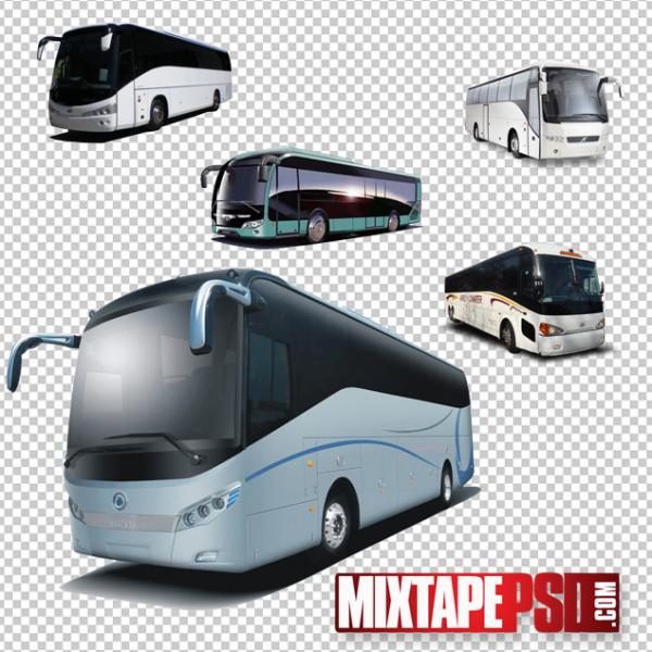 Tour Buses Template