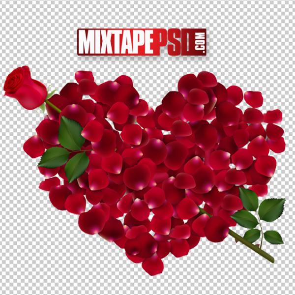 Valentine Roses Heart 2