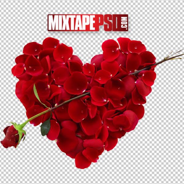 Valentine Roses Heart
