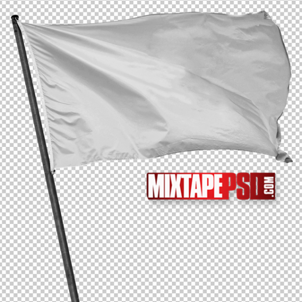 White Blank Flag PNG