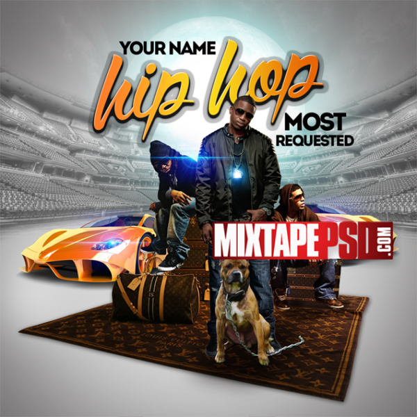 Mixtape Template Hip Hop Most Requested 3