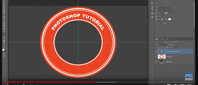 How to Type in a Circle in Photoshop