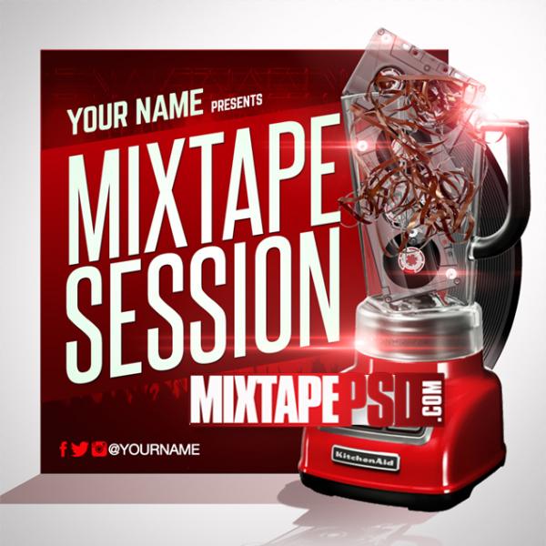 Mixtape Cover Template Mixtape Session 10