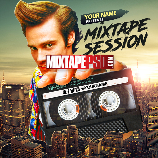Mixtape Cover Template Mixtape Session 11 Best Graphic Designs Mixtapepsds