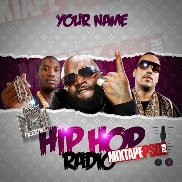 Mixtape Template Hip Hop Radio 2