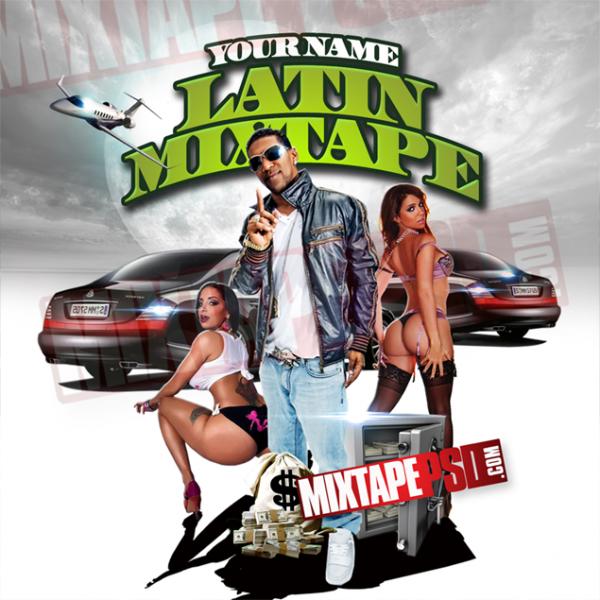 Mixtape Template Latin Mixtape