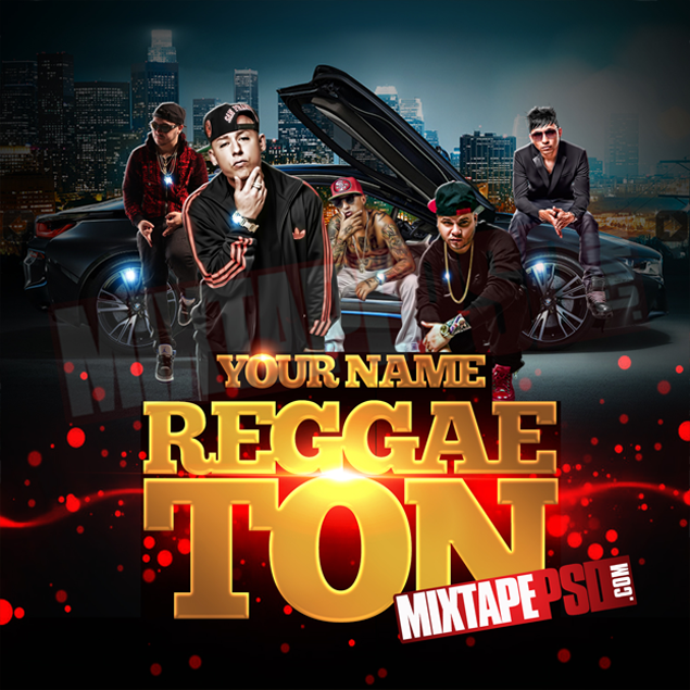 Mixtape Template Reggaeton Best Graphic Designs Mixtapepsds