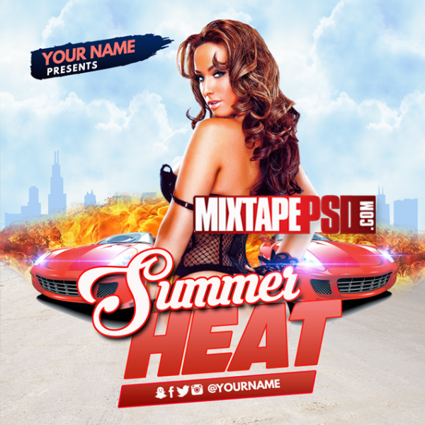 Mixtape Cover Template Summer Heat, Album Covers, Graphic Design, Graphic Designer, How to Make a Mixtape Cover, Mixtape, Mixtape cover Maker, Mixtape Cover Templates, Mixtape Covers, Mixtape Designer, Mixtape Designs, Mixtape PSD, Mixtape Templates, Mixtapepsd, Mixtapes, Premade Mixtape Covers, Premade Single Covers, PSD Mixtape, Custom Mixtape Covers