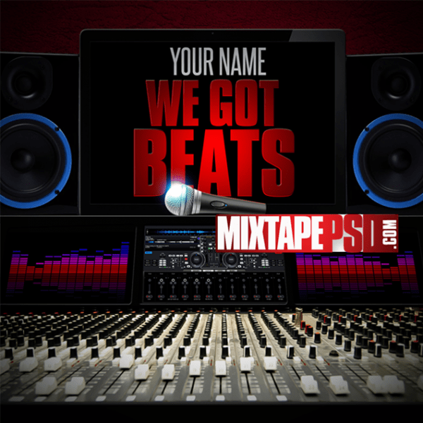 Mixtape Cover Template We Got Beats 4, Album Covers, Graphic Design, Graphic Designer, How to Make a Mixtape Cover, Mixtape, Mixtape cover Maker, Mixtape Cover Templates, Mixtape Covers, Mixtape Designer, Mixtape Designs, Mixtape PSD, Mixtape Templates, Mixtapepsd, Mixtapes, Premade Mixtape Covers, Premade Single Covers, PSD Mixtape,