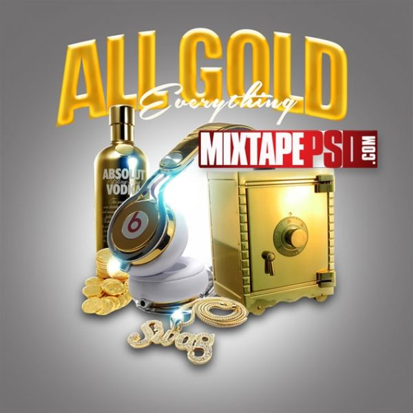 Mixtape Template All Gold Everything