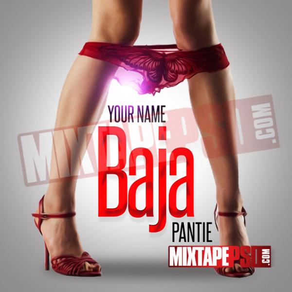 Mixtape Cover Template Baja Pantie