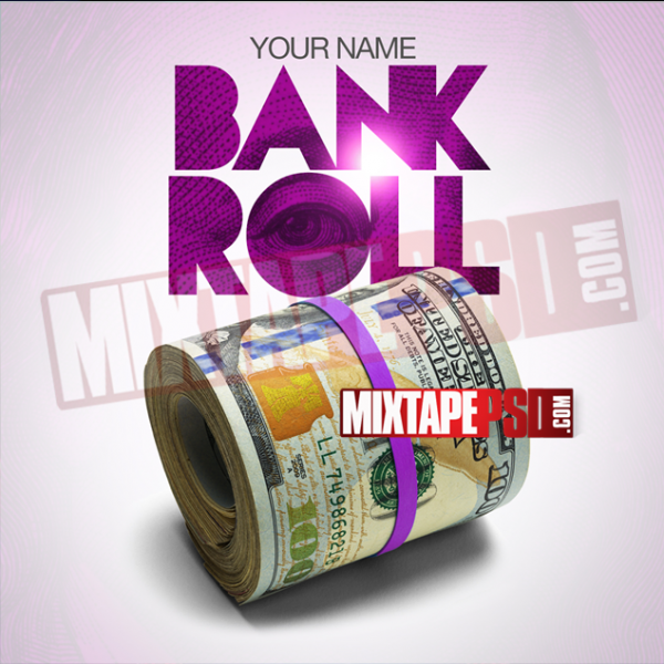 Mixtape Cover Template Bank Roll 2