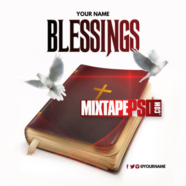 Mixtape Cover Template Blessings 4, Album Covers, Graphic Design, Graphic Designer, How to Make a Mixtape Cover, Mixtape, Mixtape cover Maker, Mixtape Cover Templates, Mixtape Covers, Mixtape Designer, Mixtape Designs, Mixtape PSD, Mixtape Templates, Mixtapepsd, Mixtapes, Premade Mixtape Covers, Premade Single Covers, PSD Mixtape, Custom Mixtape Covers