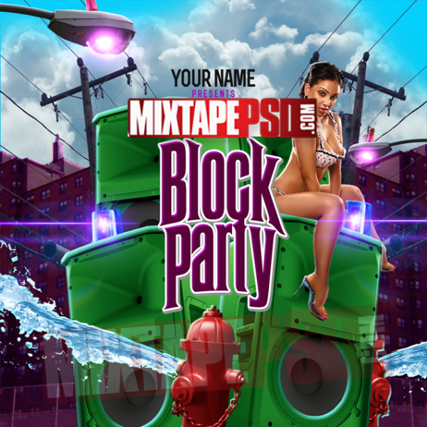 Mixtape Template Block Party, Album Covers, Graphic Design, Graphic Designer, How to Make a Mixtape Cover, Mixtape, Mixtape cover Maker, Mixtape Cover Templates, Mixtape Covers, Mixtape Designer, Mixtape Designs, Mixtape PSD, Mixtape Templates, Mixtapepsd, Mixtapes, Premade Mixtape Covers, Premade Single Covers, PSD Mixtape, Custom Mixtape Covers