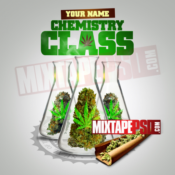 Mixtape Cover Template Chemistry Class 2