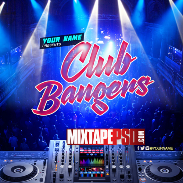 Mixtape Cover Template Club Bangers 3, Album Covers, Graphic Design, Graphic Designer, How to Make a Mixtape Cover, Mixtape, Mixtape cover Maker, Mixtape Cover Templates, Mixtape Covers, Mixtape Designer, Mixtape Designs, Mixtape PSD, Mixtape Templates, Mixtapepsd, Mixtapes, Premade Mixtape Covers, Premade Single Covers, PSD Mixtape, Custom Mixtape Covers