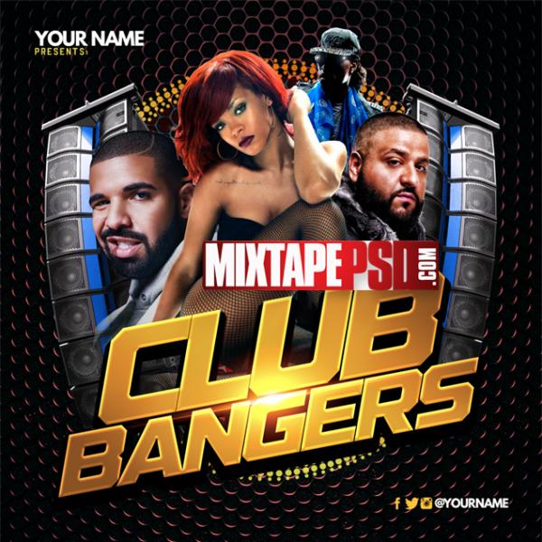 Mixtape Cover Template Club Bangers 4, Album Covers, Graphic Design, Graphic Designer, How to Make a Mixtape Cover, Mixtape, Mixtape cover Maker, Mixtape Cover Templates, Mixtape Covers, Mixtape Designer, Mixtape Designs, Mixtape PSD, Mixtape Templates, Mixtapepsd, Mixtapes, Premade Mixtape Covers, Premade Single Covers, PSD Mixtape, Custom Mixtape Covers free mixtape cover psd templates
