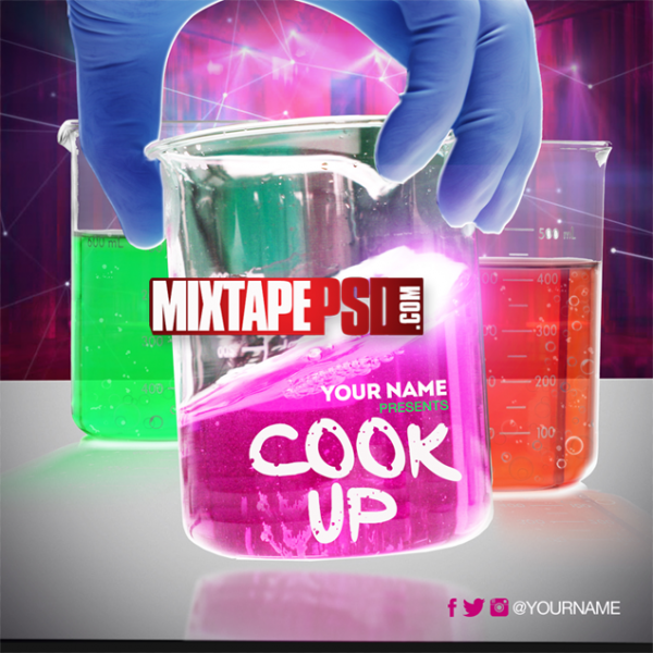Mixtape Cover Template Cook Up
