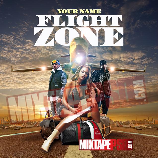 Mixtape Cover Template Flight Zone 3 Best Graphic Designs Mixtapepsds