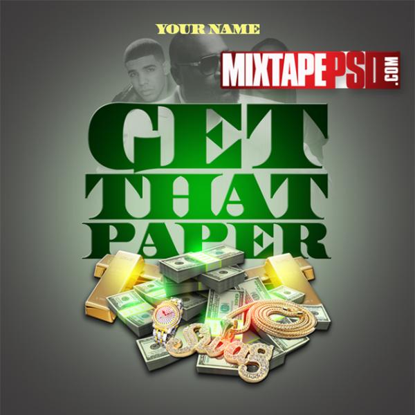 Mixtape Template Get That Paper