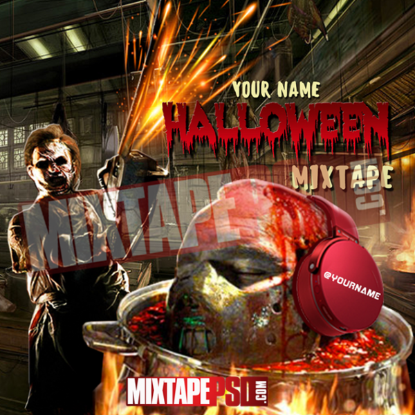 Mixtape Cover Template Halloween 5, Album Covers, Graphic Design, Graphic Designer, How to Make a Mixtape Cover, Mixtape, Mixtape cover Maker, Mixtape Cover Templates, Mixtape Covers, Mixtape Designer, Mixtape Designs, Mixtape PSD, Mixtape Templates, Mixtapepsd, Mixtapes, Premade Mixtape Covers, Premade Single Covers, PSD Mixtape, Custom Mixtape Covers
