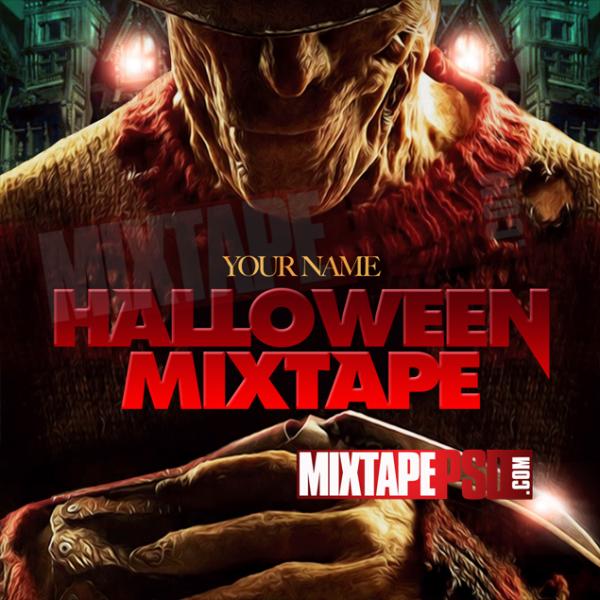 Mixtape Cover Template Halloween Mixtape 2