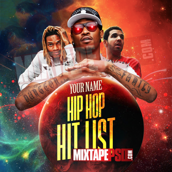 Mixtape Cover Template Hip Hop Hit List 2, Album Covers, Graphic Design, Graphic Designer, How to Make a Mixtape Cover, Mixtape, Mixtape cover Maker, Mixtape Cover Templates, Mixtape Covers, Mixtape Designer, Mixtape Designs, Mixtape PSD, Mixtape Templates, Mixtapepsd, Mixtapes, Premade Mixtape Covers, Premade Single Covers, PSD Mixtape, Custom Mixtape