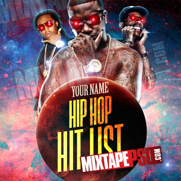Mixtape Template Hip Hop Hit List, Album Covers, Graphic Design, Graphic Designer, How to Make a Mixtape Cover, Mixtape, Mixtape cover Maker, Mixtape Cover Templates, Mixtape Covers, Mixtape Designer, Mixtape Designs, Mixtape PSD, Mixtape Templates, Mixtapepsd, Mixtapes, Premade Mixtape Covers, Premade Single Covers, PSD Mixtape, Custom Mixtape