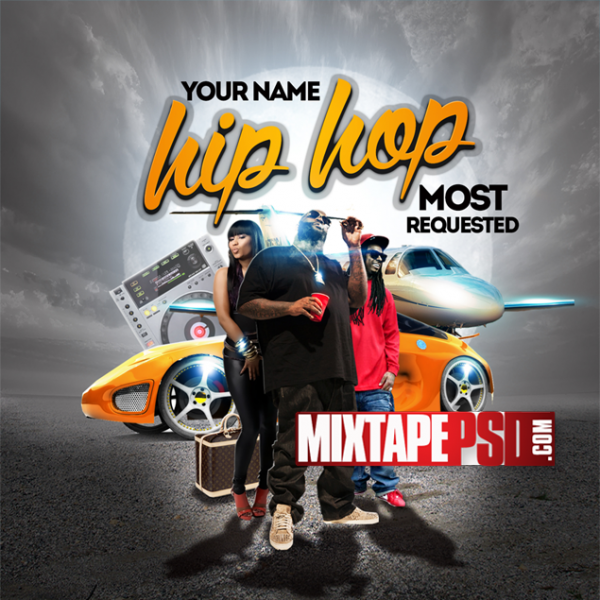 Mixtape Template Hip Hop Most Requested 2