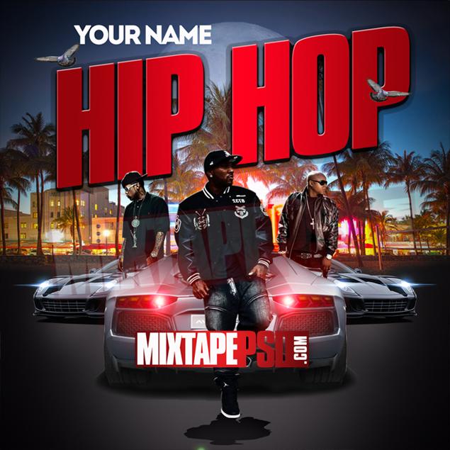Mixtape Cover Template Hip Hop 2 Best Graphic Designs Mixtapepsds