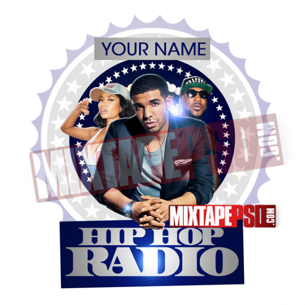 Mixtape Cover Template Hip Hop Radio 19