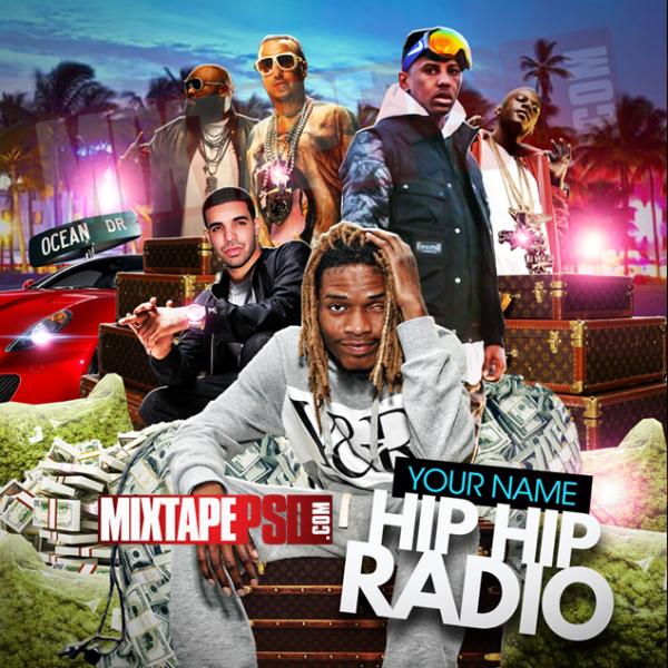 Mixtape Cover Template Hip Hop Radio 26