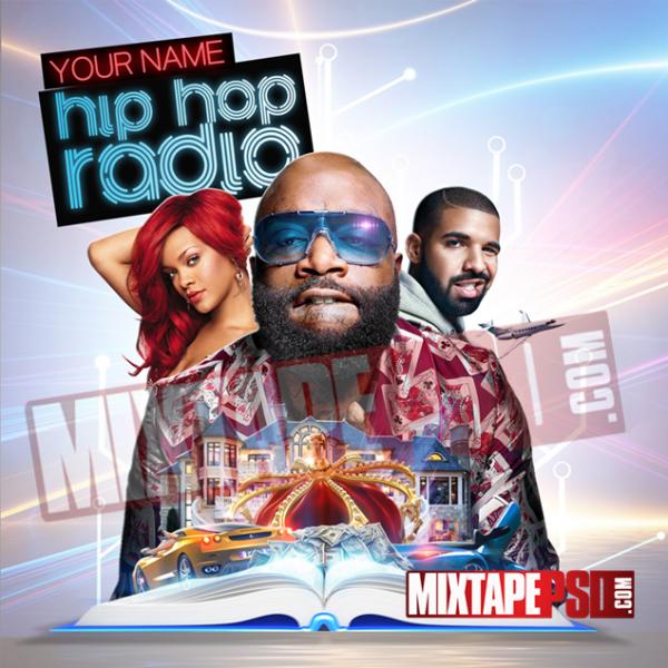 Mixtape Cover Template Hip Hop Radio 43, Album Covers, Graphic Design, Graphic Designer, How to Make a Mixtape Cover, Mixtape, Mixtape cover Maker, Mixtape Cover Templates, Mixtape Covers, Mixtape Designer, Mixtape Designs, Mixtape PSD, Mixtape Templates, Mixtapepsd, Mixtapes, Premade Mixtape Covers, Premade Single Covers, PSD Mixtape, Custom Mixtape Covers