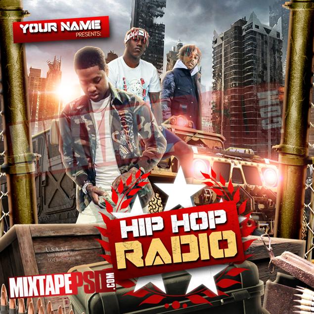 Mixtape Cover Template Hip Hop Radio 50 Best Graphic Designs Mixtapepsds