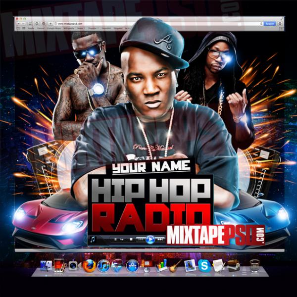 Mixtape Template Hip Hop Radio 7